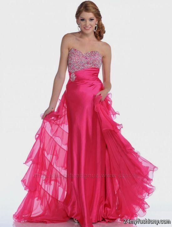 hot pink prom dresses stylish 2016-2017 » B2B Fashion