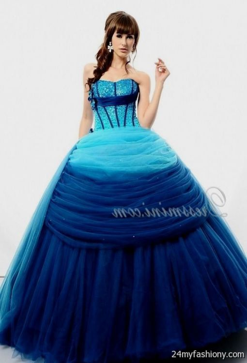 neon blue quinceanera dresses 2016-2017 » B2B Fashion
