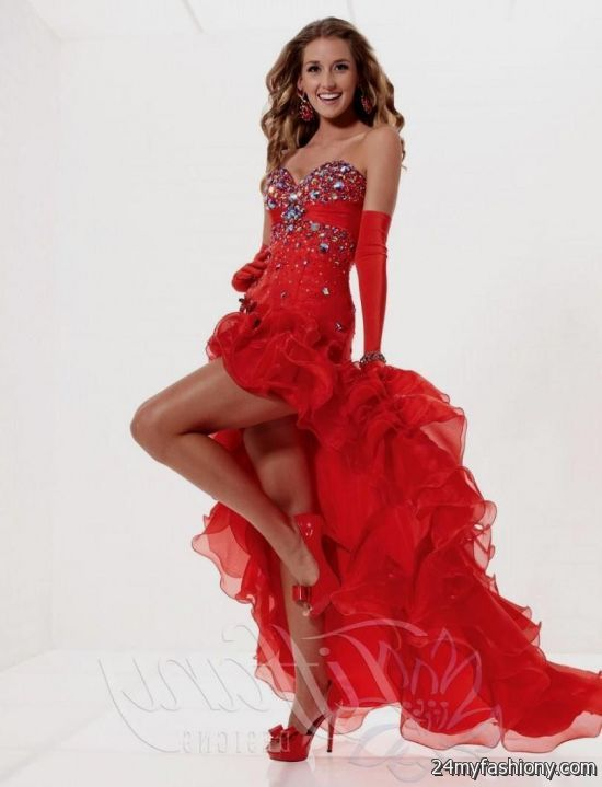 prom dresses high low red 2016-2017 » B2B Fashion