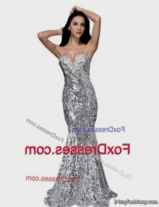 silver sequin mermaid prom dress 2016-2017 » B2B Fashion