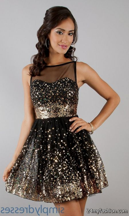 black and gold dresses for juniors 2016-2017 » B2B Fashion