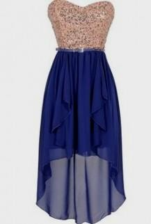 blue high low dresses for teenagers 2016-2017 » B2B Fashion