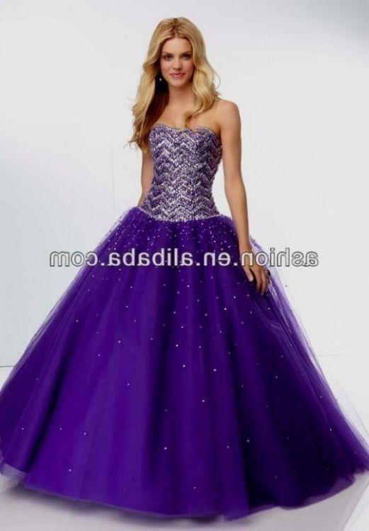dark purple strapless prom dress 2016-2017 » B2B Fashion