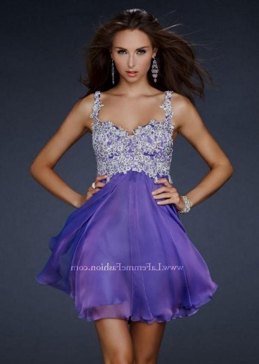 homecoming dresses purple with straps 2016-2017 » B2B Fashion