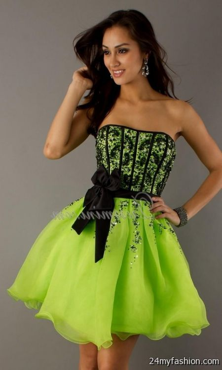 neon party dresses for juniors 2016-2017 » B2B Fashion