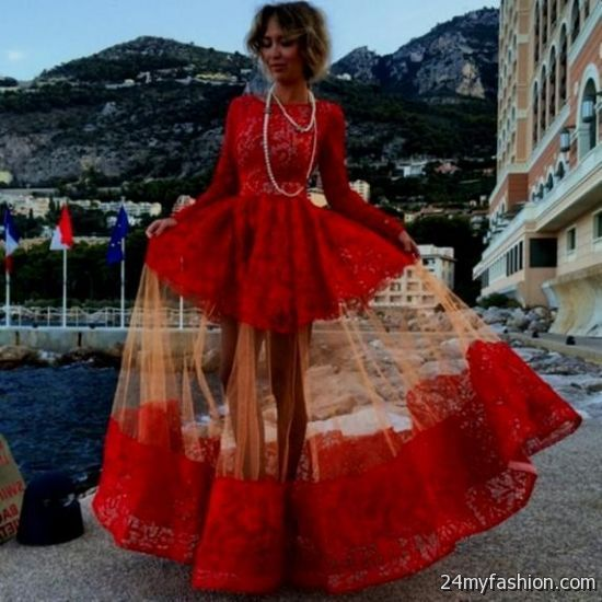 red lace dress tumblr 2016-2017 » B2B Fashion