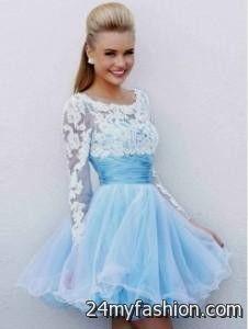 short prom dresses with thick straps 2016-2017 » B2B Fashion