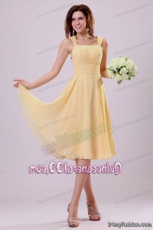 simple gold dama dresses 2016-2017 » B2B Fashion