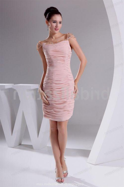 Summer Mother Of The Bride Dresses Knee Length Looks B2B