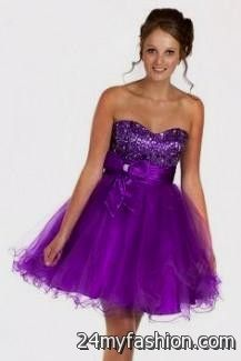 sweet 16 dresses blue and purple short 2016-2017 » B2B Fashion