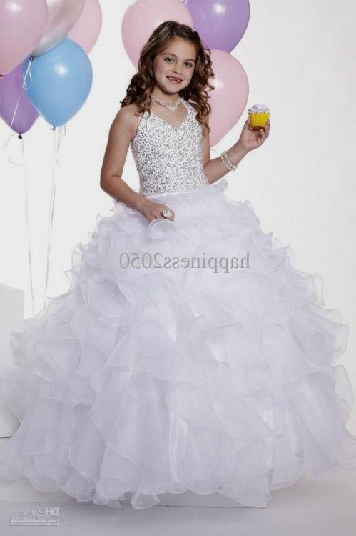 white wedding dresses for kids 10-12 2016-2017 » B2B Fashion