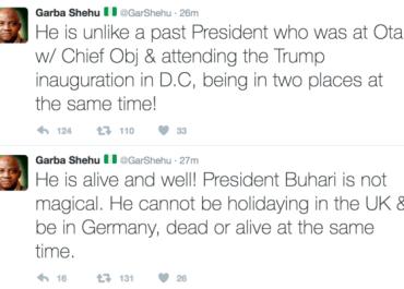 buhari is dead
