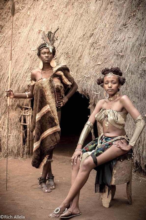 africa queens kureng , allela