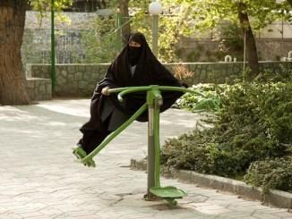 kvinde med burka