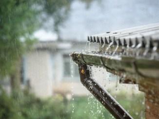 regn skybrud vejret