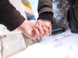 hænder kærlighed par