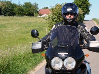 motorcykel sommer sort