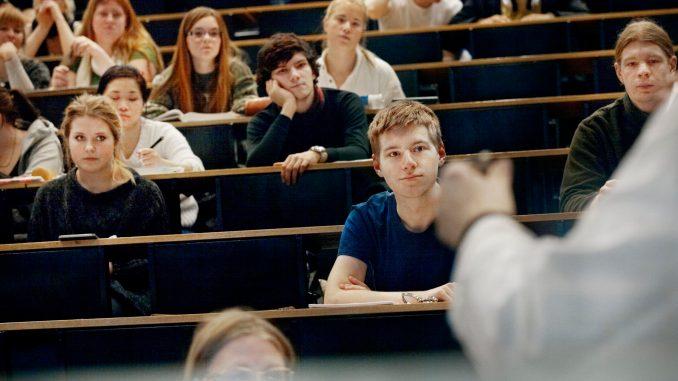 studerende elever universitet forelæsning