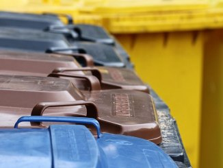 container affald