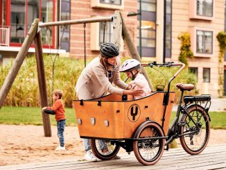 cykel forældre børn