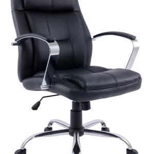 Bureaustoel Chromo - Zwart