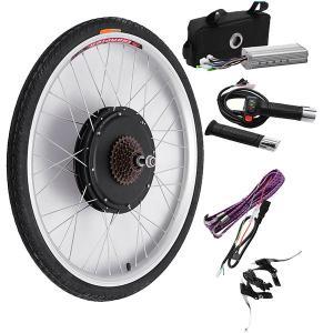Bikight 48V 500W 26Inch Elektrische Fiets Modificatie Kits Rijden Motor Achterwiel Controller Fiets Kits