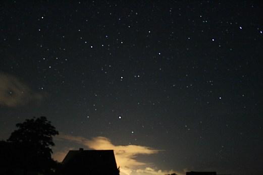 Nachthimmel über Jheringsfehn
