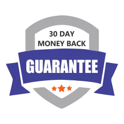 30 day money back- Guarantee