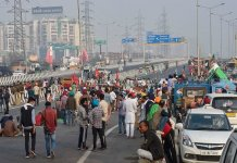 The farmers called for a Bharat Bandh on 8 December