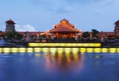Ayodya-Resort-Bali-Main-Entrance-Night-Shot