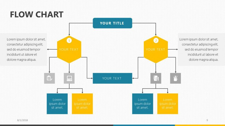Use a flow chart template and save time. Flow Chart Free Powerpoint Template