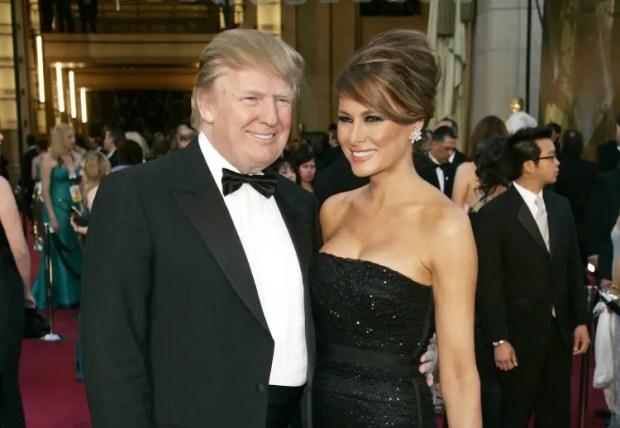 Дональд Трамп и Меланья Кнаус