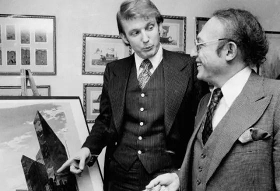 Дональд Трамп в молодости