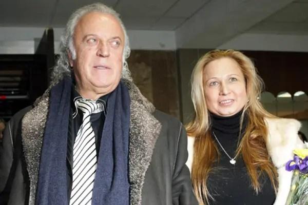 Илья Рахмиэлевич Резник с женой Ириной Романовой