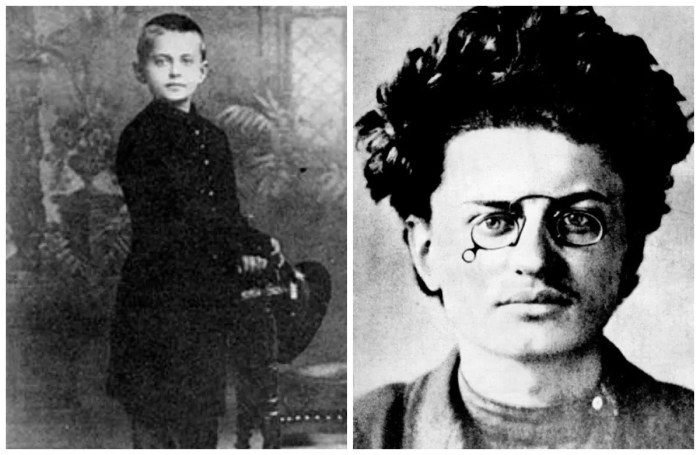 Лев Троцкий в детстве и юности