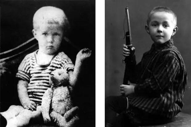 Александр Солженицын в детстве