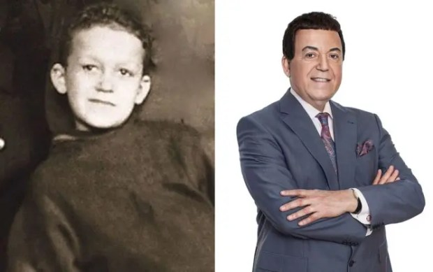 Иосиф Кобзон в детстве и сейчас