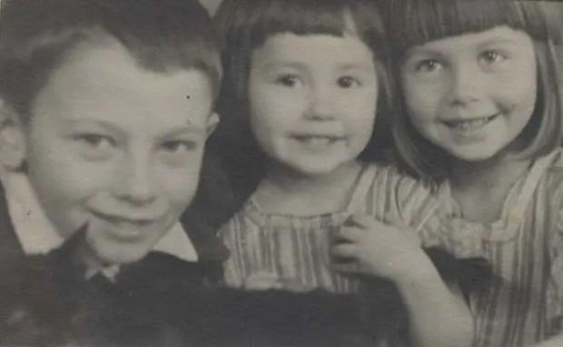 Александр Демьяненко в детстве