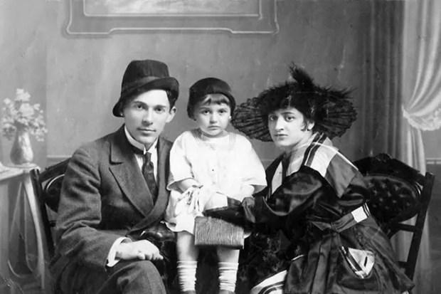 Леонид Утесов с женой и дочерью