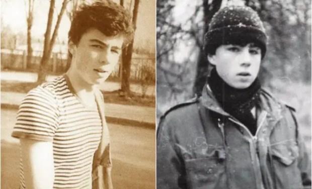 Сергей Бодров-младший в молодости