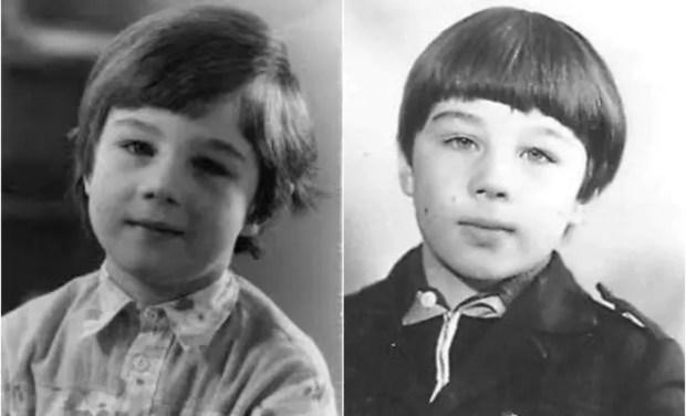 Сергей Бодров-младший в детстве