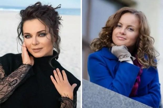 Наташа Королева и Юлия Проскурякова