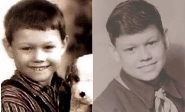 Николай Караченцов в детстве