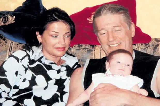 Юлия и Александр с дочерью Евгенией