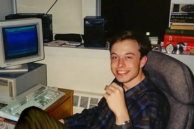 Илон Маск в юности