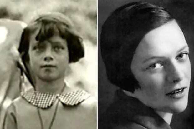 Татьяна Пельтцер в детстве и молодости