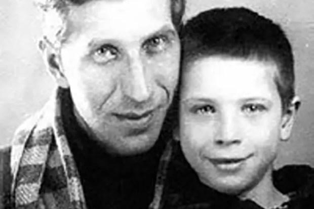 Сергей Филиппов с сыном