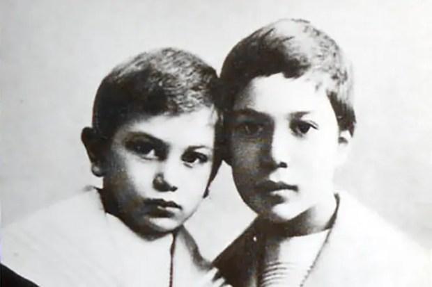 Борис Пастернак в детстве