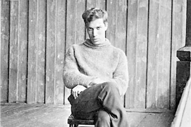Борис Пастернак в молодости
