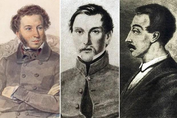 Пушкин, Пущин и Кюхельбекер